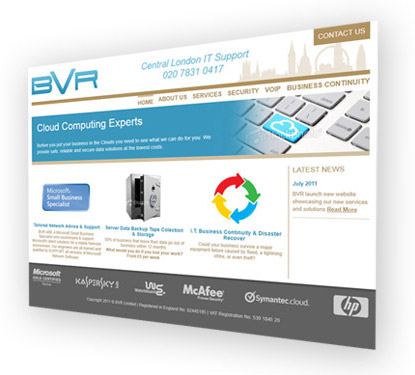 BVR website screenshot